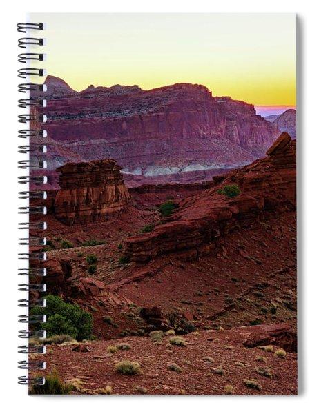 Capitol Reef Sunrise Spiral Notebook