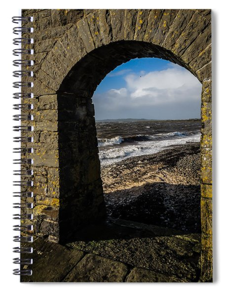 Cappagh Pier And Ireland's Shannon Estuary Spiral Notebook
