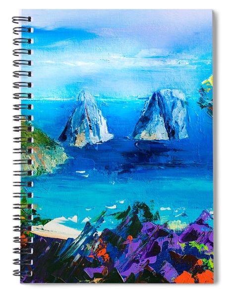 Capri Colors Spiral Notebook