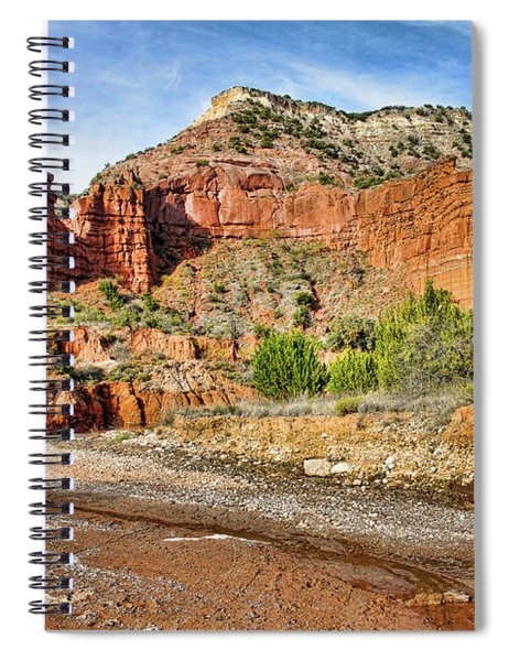 Caprock Canyon Spiral Notebook