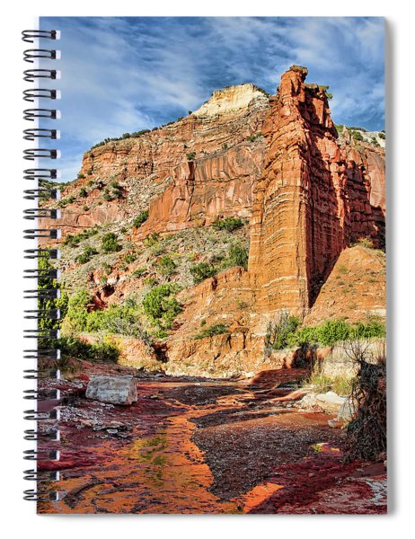 Caprock Canyon Cliff Spiral Notebook