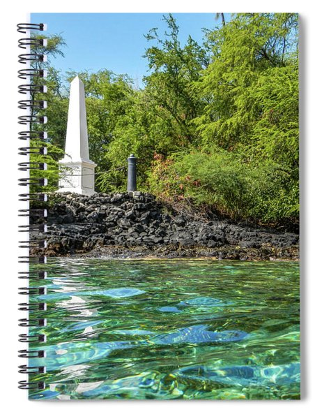 Captain Cook Monument Spiral Notebook