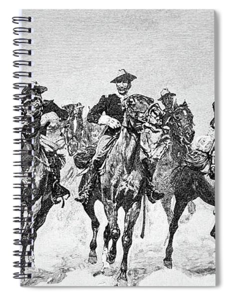Captain Dodge's Troopers To The Rescue Spiral Notebook