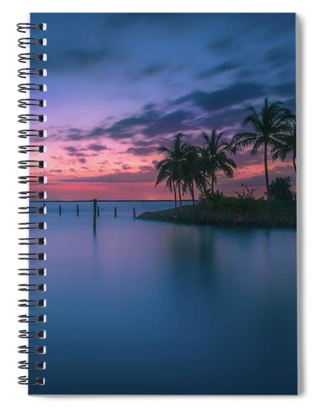 Captiva Sunset Spiral Notebook