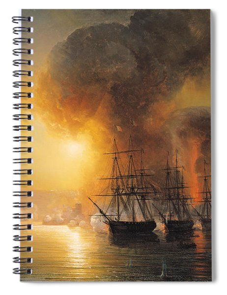 Capture Of The Fort Of Saint Jean Dulloa On 23rd November 1838 Spiral Notebook