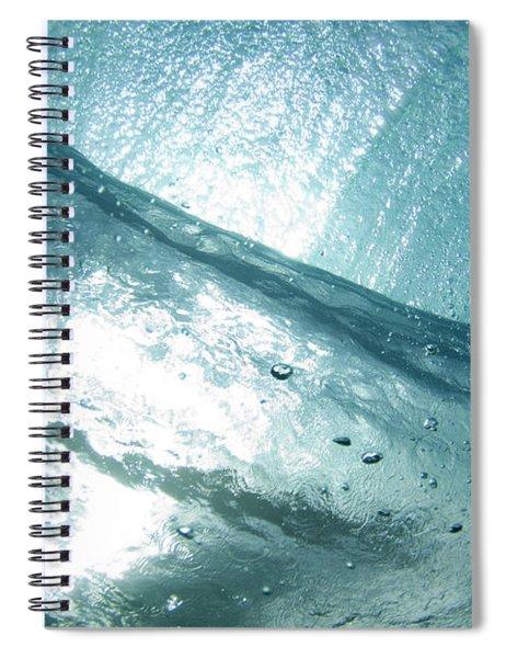 Captured Light Spiral Notebook