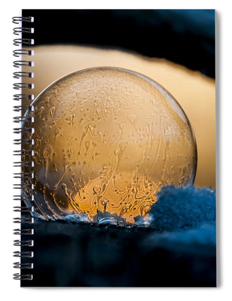 Captured Sunrise Spiral Notebook