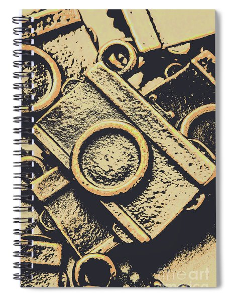 Capturing Memories And Nostalgia Spiral Notebook