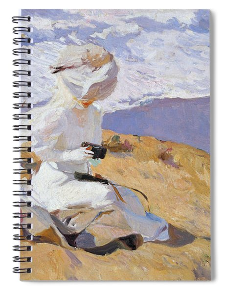 Capturing The Moment Spiral Notebook