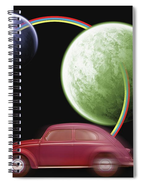Car Space  Spiral Notebook