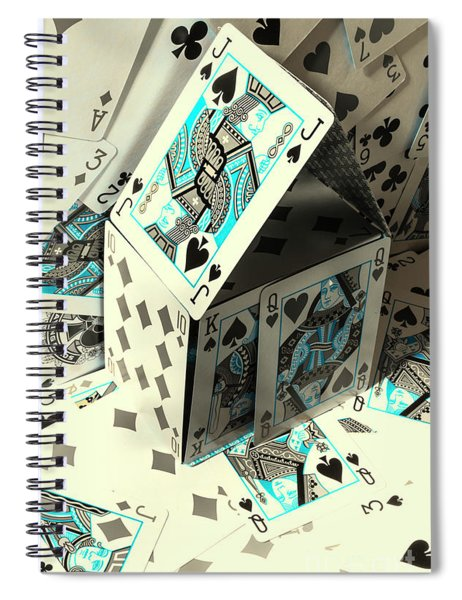 Card Fun House Spiral Notebook