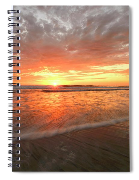Cardiff Starburst Spiral Notebook