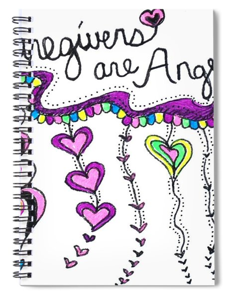 Caregiver Chime Spiral Notebook