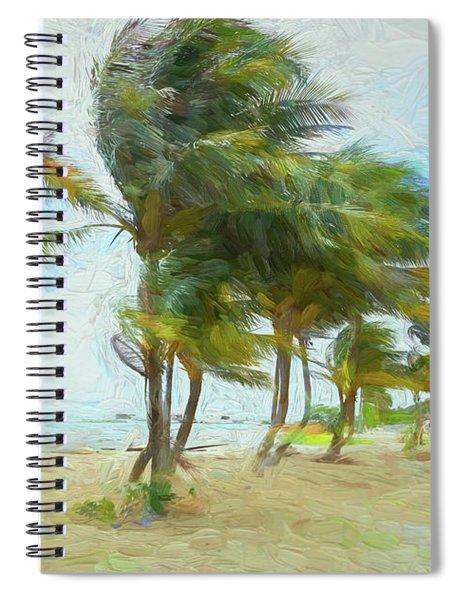Caribbean Getaway Spiral Notebook