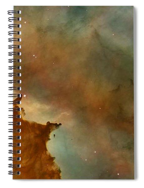 Carina Nebula Details -  Great Clouds Spiral Notebook
