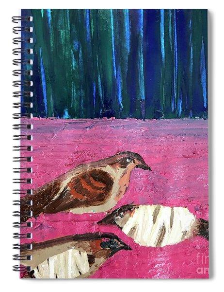 These Broken Wings Spiral Notebook