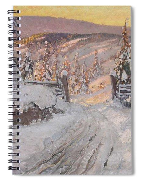 Carl Brandt   1871 930    Landscape Spiral Notebook