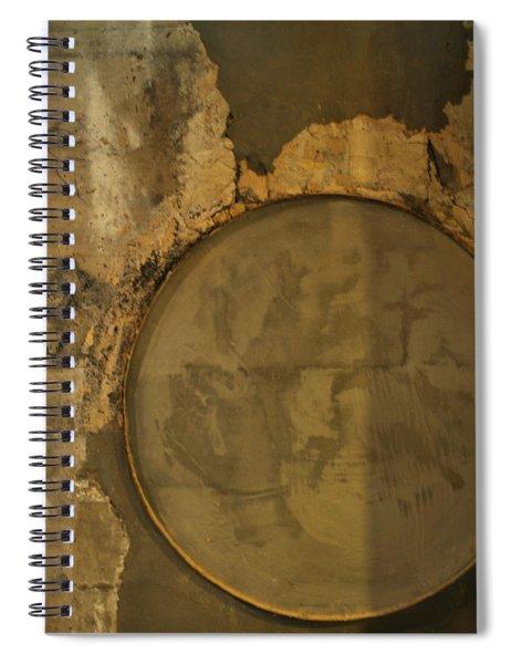 Carlton 3 - Abstract Concrete Spiral Notebook