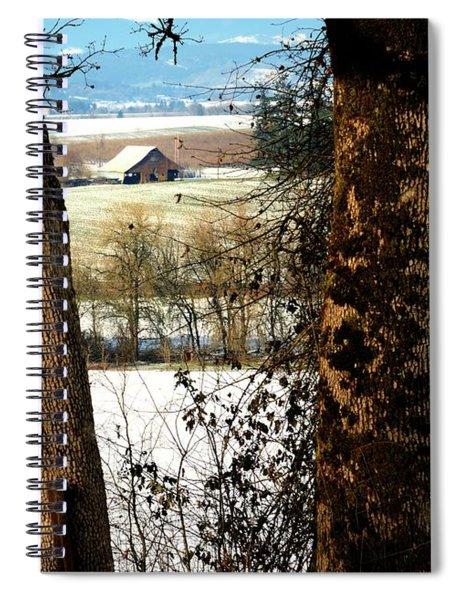 Carlton Barn Spiral Notebook