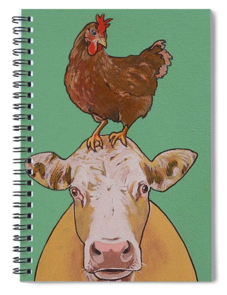Carlyle The Cow Spiral Notebook