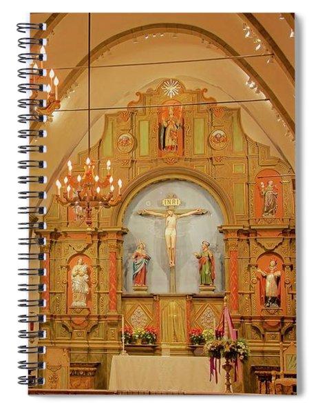 Carmel Mission, Mission San Carlos Borromeo Spiral Notebook