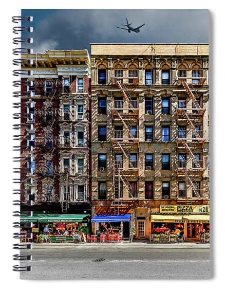Carmine Street Spiral Notebook
