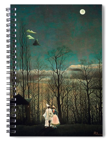 Carnival Evening Spiral Notebook