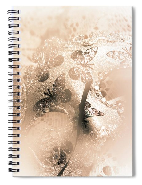 Carnival Mystery Spiral Notebook