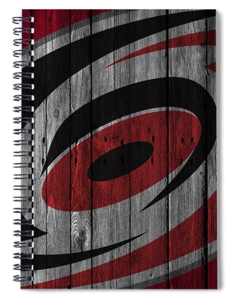 Carolina Hurricanes Wood Fence Spiral Notebook
