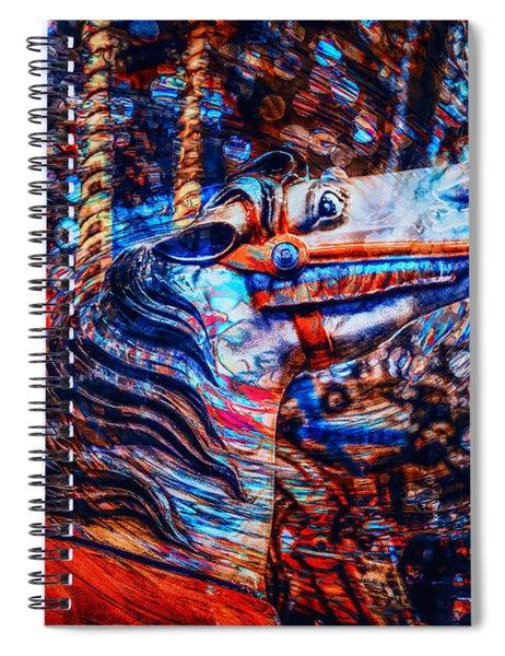 Carousel Dream Spiral Notebook