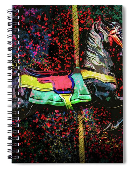 Carousel Number 16 Spiral Notebook