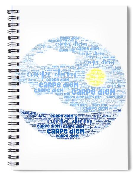 Carpe Aestatem Spiral Notebook