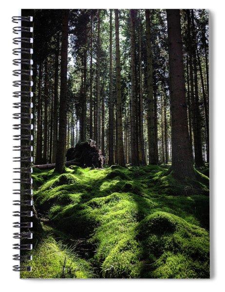 Carpet Of Verdacy Spiral Notebook