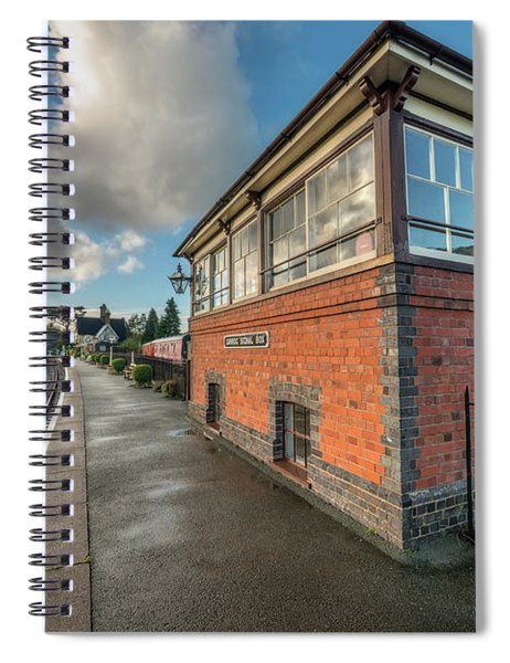 Carrog Signal Box Spiral Notebook