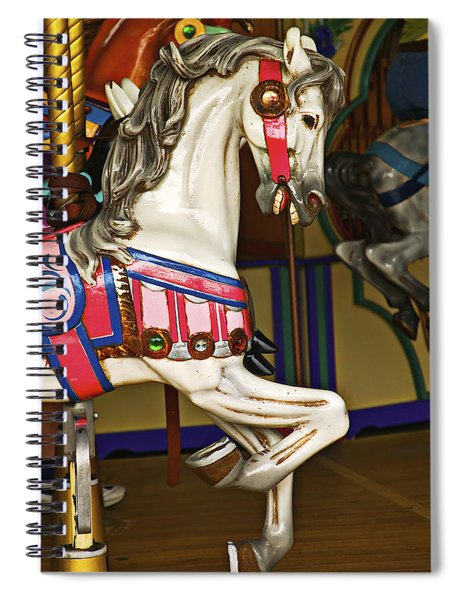 Carrsousel Horse Summer Fun Spiral Notebook