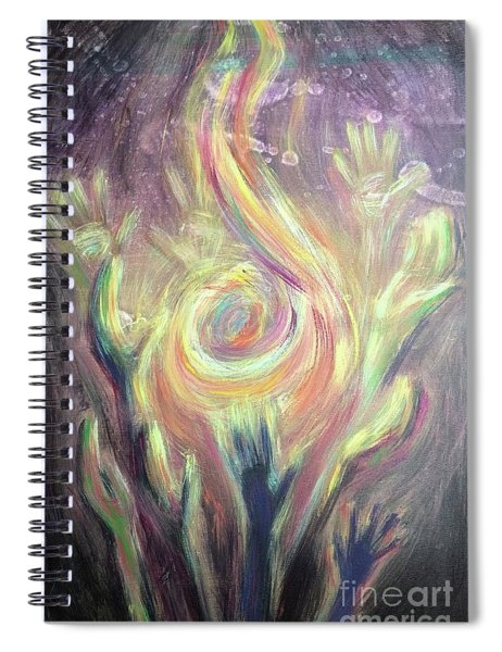 Carry The Fire Spiral Notebook
