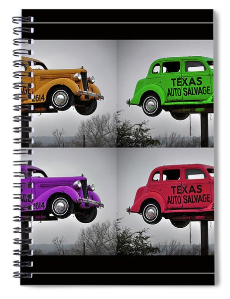 Cars Spiral Notebook
