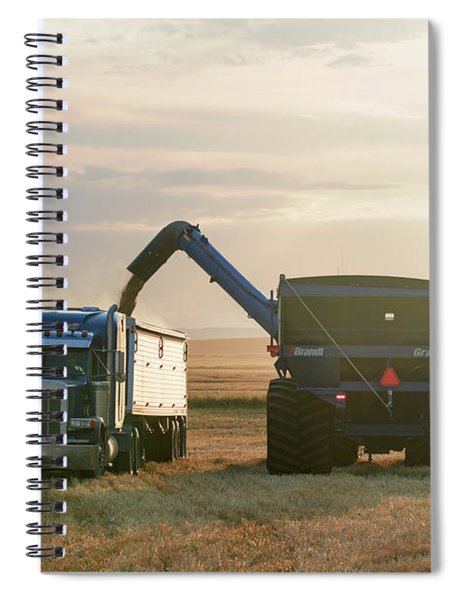 Cart Into Truck Spiral Notebook