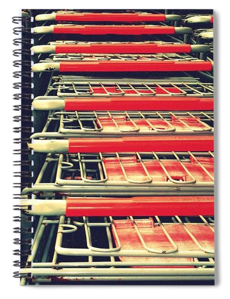 Carts Spiral Notebook