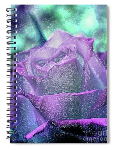 Carved Rose Spiral Notebook