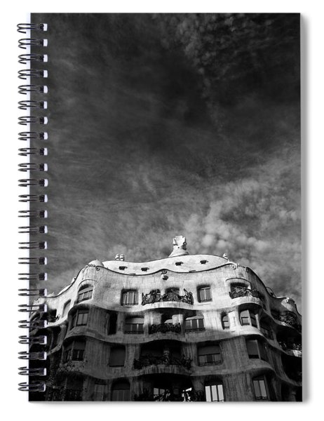 Casa Mila Spiral Notebook