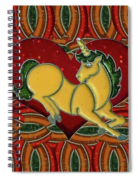 Casablanca Unicorn Dreams Spiral Notebook