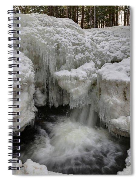 Cascade Falls 1 Spiral Notebook