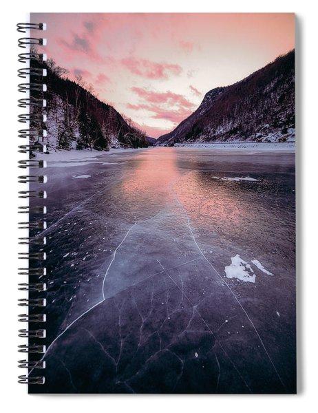 Cascade Ice Spiral Notebook