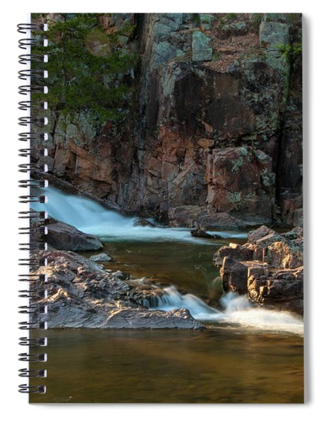 Cascade On Rocky Creek Spiral Notebook