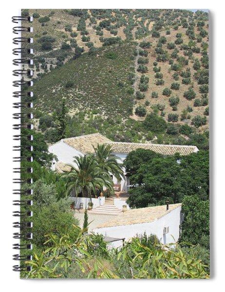 Caseria De San Jose Near Iznajar Spiral Notebook