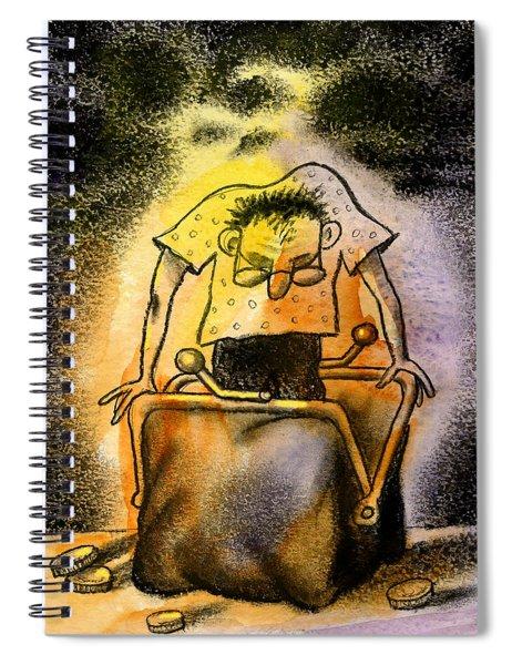 Cash Spiral Notebook