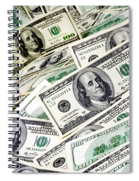 Cash Money Spiral Notebook
