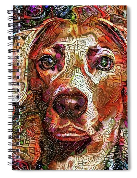 Cash The Lacy Dog Spiral Notebook