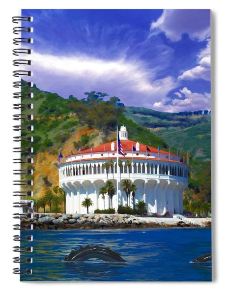Casino From The Water Spiral Notebook